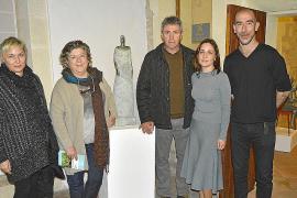 Antoni Miquel Morro presenta sus esculturas en Torre de ses Puntes