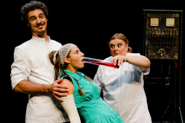 'Lady, Frank & Stein', teatro visual y 'clown' en Sant Llorenç