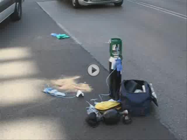Un coche atropella a una mujer y a su bebé, de cuatro meses, en la calle Aragó de Palma