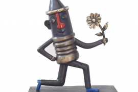 Escultura de bronce para Canyamel