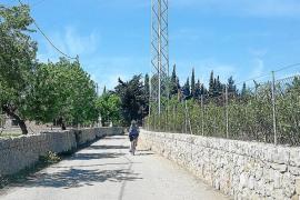 Mejora integral para la ruta ciclista que une Santa Eugènia y Pollença