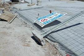Tots per Pollença denuncia la inseguridad de las obras del Port