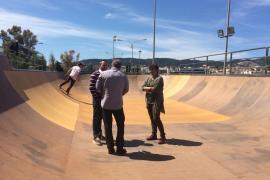 El IME invierte 15.400 euros para mejorar el Skatepark de Son Moix