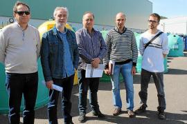 Nuevo sistema de recogida de residuos con tintes 'futuristas' en Pollença