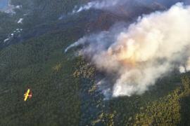 El Govern da por controlado el incendio de Benirràs