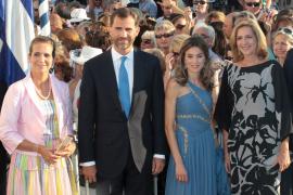 La Familia Real, en la boda de Nicolás de Grecia