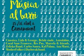 Canamunt organiza dos días de Música al Barri