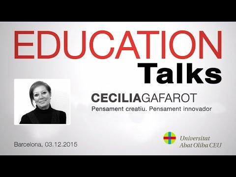 Cecilia Gafarot habla sobre 'Pensament creatiu. Pensament innovador'