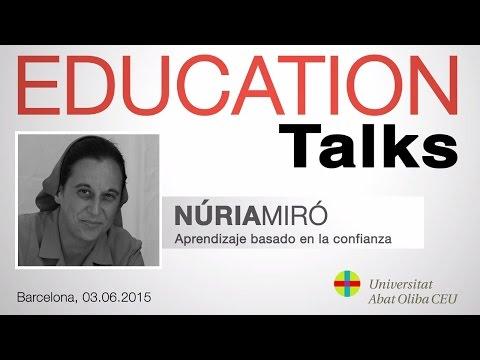 Education Talks con Núria Miró, directora del Colegio Montserrat