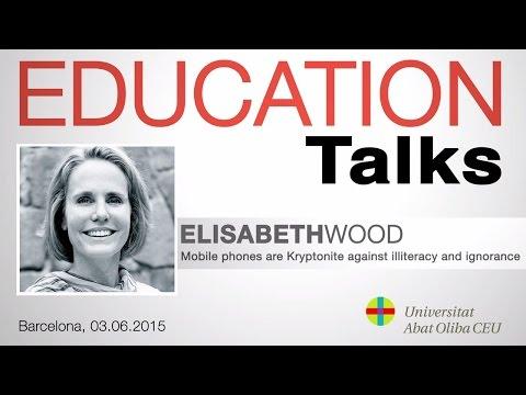 Education Talks con Elizabeth Wood, directora europea de la ONG internacional Worldreader