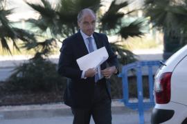 El tribunal interroga este viernes a Francisco Camps