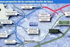 El Consell proyecta una carretera para llegar a Lluc sin pasar por el centro de Inca