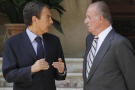 El Rey recibe hoy a Zapatero en Marivent