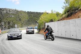 Estellencs se opone al cierre total de la carretera por pruebas deportivas