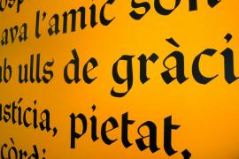Exposición de 'Els manuscrits lul·lians de la Biblioteca March'