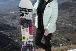 Fallece en una avalancha la campeona mundial de snowboard extremo