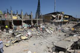 Unas 20.000 personas se han quedado sin hogar en Ecuador tras el terremoto