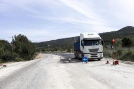 Se inicia el asfaltado de la nueva carretera de Sant Joan