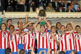 Un gran Atlético prolonga. su histórica fiesta europea