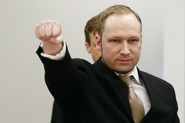 Condenan al Estado noruego por trato inhumano a Breivik en prisión