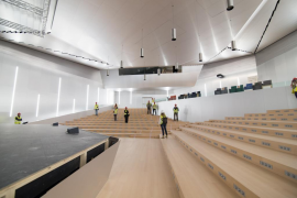 Ofrecen el Palacio de Congresos para rodajes y sesiones de fotos