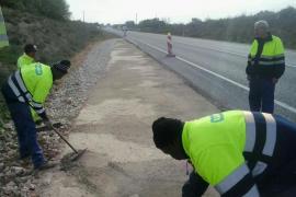 Un hombre de 41 años muere en un accidente en la carretera de Llucmajor a Campos