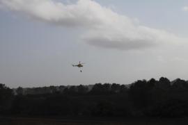 Controlado el incendio de Son Real tras afectar a 86 hectáreas de terreno