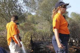 Incendio en Santa Margalida