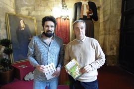 Gaspar Valero y Llorenç Garrit presentan en Cort 'Les llegendes de la ciutat de Palma'