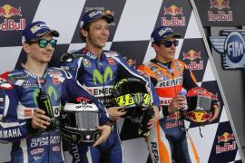 Rossi consigue la mejor clasificación en Jerez, donde saldrá por delante de Lorenzo