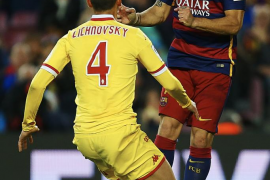 Suárez lidera la goleada del Barça al Sporting