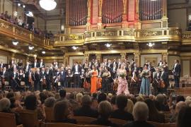 La Simfònica saborea el éxito de su recital en el Musikverein de Viena