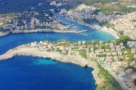 Vista aérea de Portocristo .
