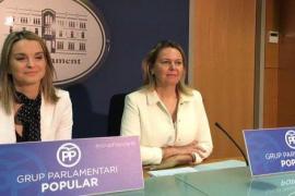 El PP quiere saber si Armengol «está cómoda» con unos socios de Govern que ensalzan a Otegi