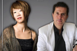 Los pianistas Yuko Mizutani y Andreu Riera tocan en el Conservatori de Palma