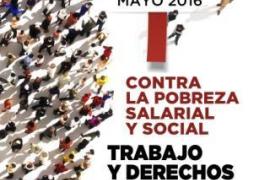 Los sindicatos celebrarán un «primero de mayo contra la pobreza salarial»