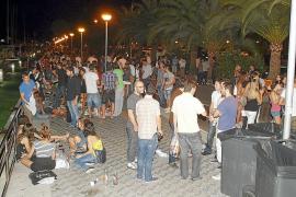 Los vecinos de Son Armadans alertan del aumento del 'botellón' en la zona