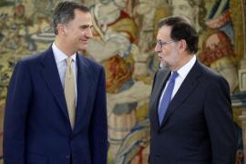 Rajoy confirma al Rey que sigue sin contar con apoyos para la investidura