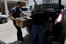 Dos detenidos en una operación antidroga de la Guardia Civil en la Colònia de Sant Jordi