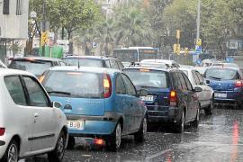 Palma perdió el 20 % de vehículos en 5 años pero aún supera la media estatal