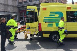 Una mujer ha sido atropellada en Jaume III
