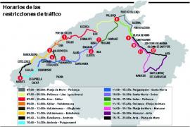 La prueba deportiva Mallorca 312 bloqueará el sábado 59 carreteras de 30 localidades