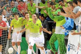 Mil aficionados estarán con el Palma Futsal en Sevilla