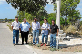 Recuperada la cruz destruida durante la ampliación de la carretera