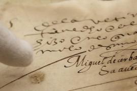 Las firmas perdidas de Cervantes