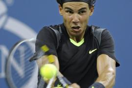 Nadal debuta en el Open USA con una trabajada victoria