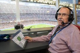 Fallece Manel Vich, el 'speaker' del Camp Nou