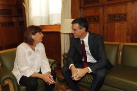 Armengol ve «lógico» que Pedro Sánchez repita como candidato