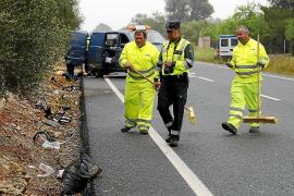 Muere el segundo ciclista arrollado por un coche en la carretera de Sineu