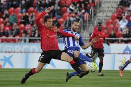El Alavés frena las opciones del Mallorca